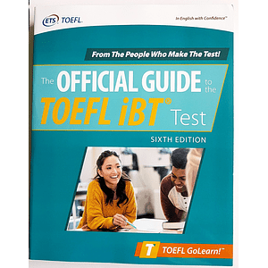 Libro The Official Guide to the TOEFL iBT Test 6th Edition