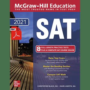 eBook McGraw-Hill Education SAT 2021