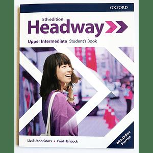 Libro Headway Upper Intermediate Student's Book 5th edition