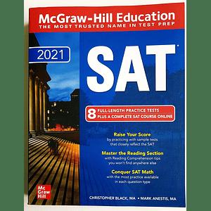 Libro McGraw-Hill Education SAT 2021