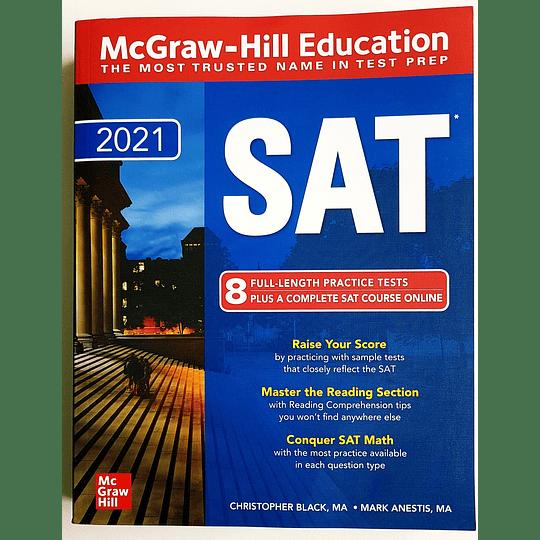 Libro McGraw-Hill Education SAT 2021 - Image 1
