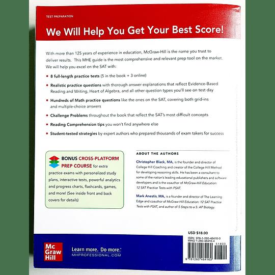 Libro McGraw-Hill Education SAT 2021 - Image 2