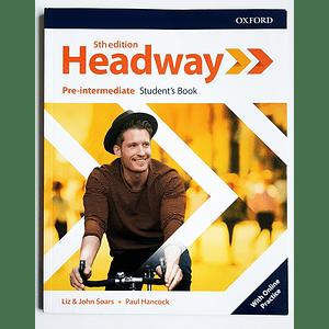 Libro Headway Pre-intermediate Student's Book 5th edition