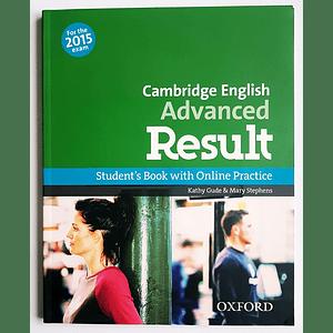 Libro Cambridge English: Advanced Result Student's Book
