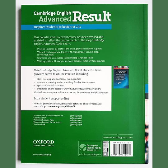 Libro Cambridge English: Advanced Result Student's Book  - Image 2