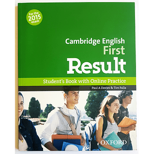 Libro Cambridge English: First Result Student's Book