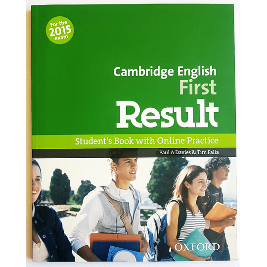 Libro Cambridge English: First Result Student's Book  - Image 1