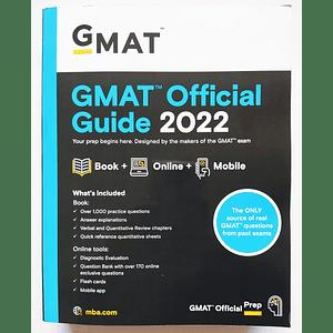 Libro GMAT Official Guide 2022