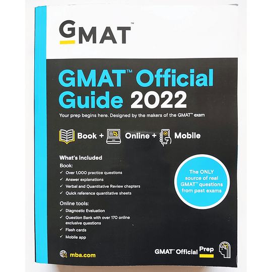 Libro GMAT Official Guide 2022 - Image 1