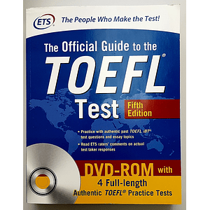 Libro The Official Guide to the TOEFL Test 5th Edition