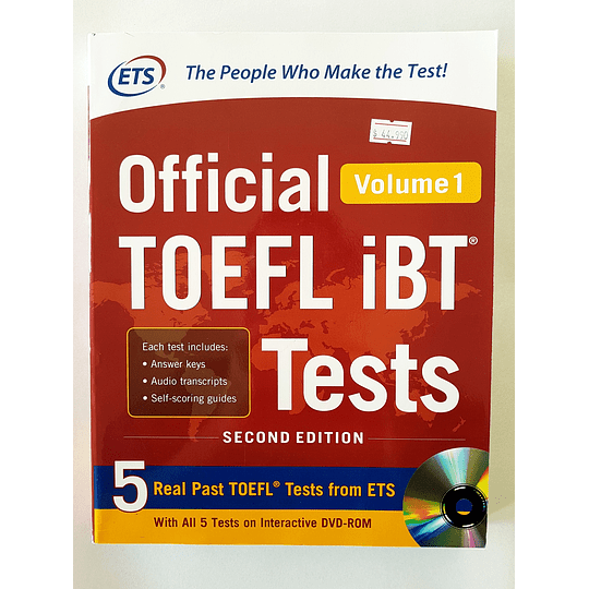 Libro Official TOEFL iBT® Tests Volume 1 - Image 1