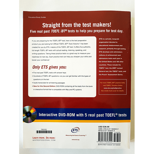 Libro Official TOEFL iBT® Tests Volume 1 - Image 2