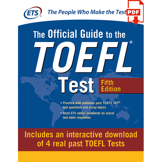 eBook The Official Guide to the TOEFL Test 5th ed - Image 1