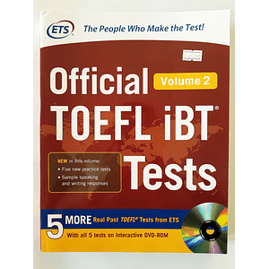 Libro Official TOEFL iBT® Tests Volume 2