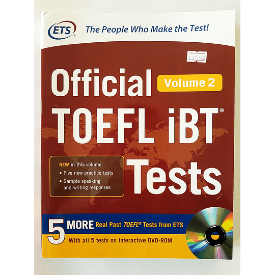 Libro Official TOEFL iBT® Tests Volume 2 - Image 1