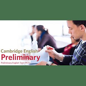 Curso Cambridge B1 Preliminary (PET)