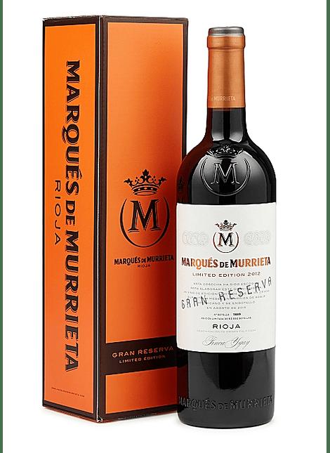 Marques de Murrieta Limited Edition Gran Reserva c/ coffret 2012 0,75l