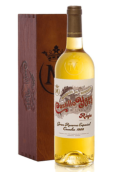 Marques de Murrieta Castillo Ygay Blanco 1986 c/ coffret 0,75l