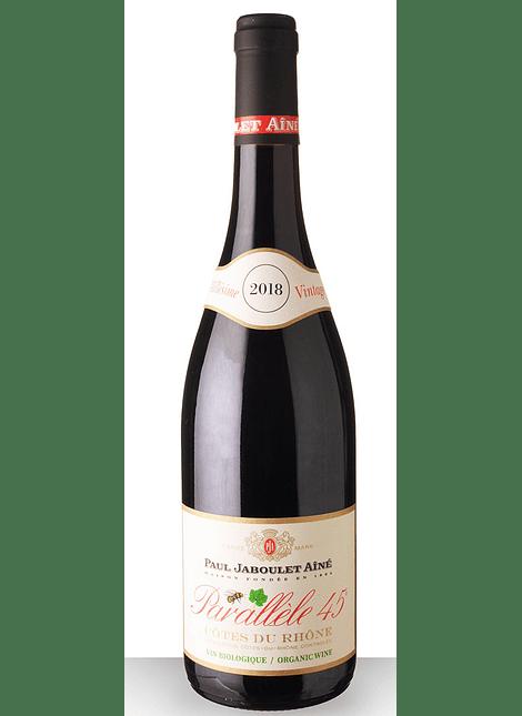 Paul Jaboulet Aine Cotes du Rhone Parallele 45 Rouge Bio 2018 0,75l