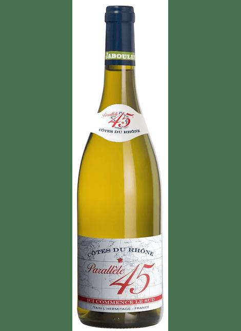 Paul Jaboulet Aine Cotes du Rhone Parallele 45 Blanc Bio 2019 0,75l