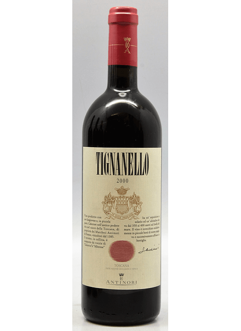 Marchesi Antinori Tignanello Toscana 2000 0,75l