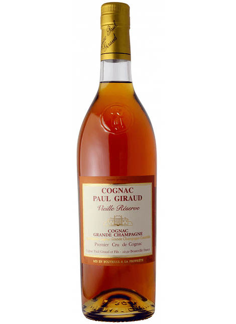 Paul Giraud Grande Champagne Vieille Reserve Carafe Helianthe Cognac 0,70l