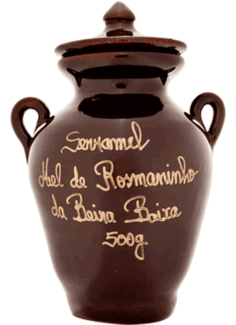 Pote de Mel de Rosmaninho de Portugal