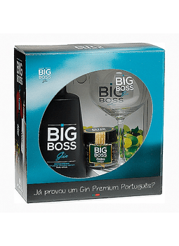 Pack Big Boss + copo + especiarias