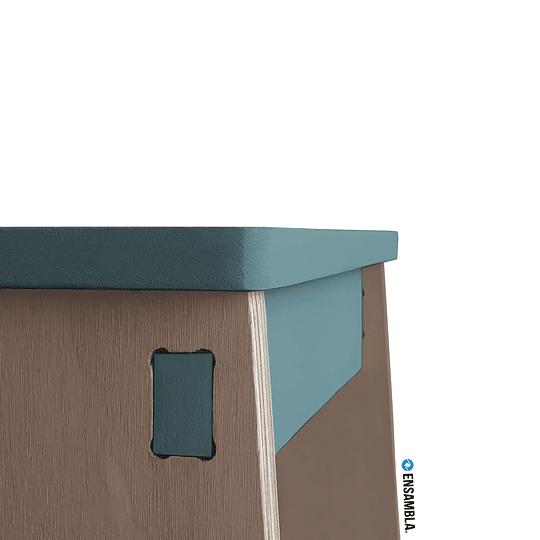 Silla Gapra   GreenDarkBlue - Image 3