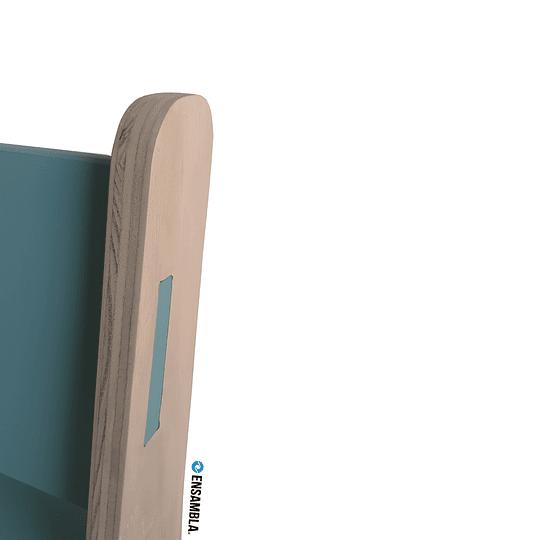 Silla Gapra   GreenDarkBlue - Image 4