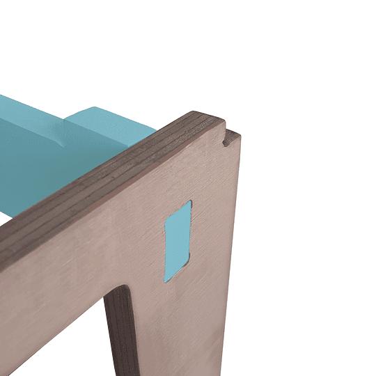 Mesa Nit GreenBlue + 1 Sillas Gapra - Image 4