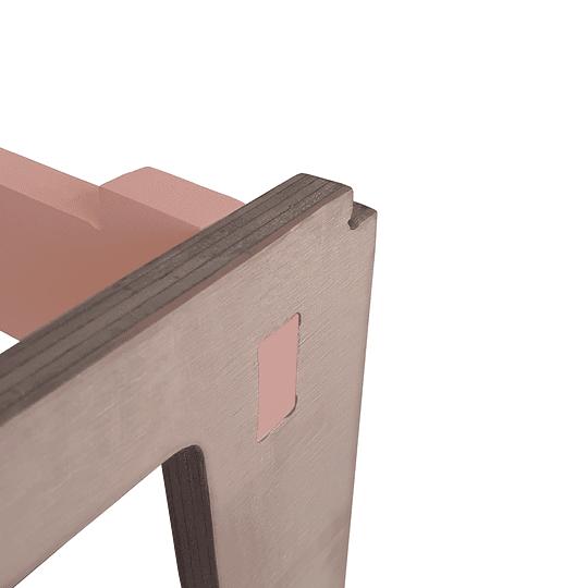 Mesa Nit PinkOrange + 1 Silla Gapra - Image 5