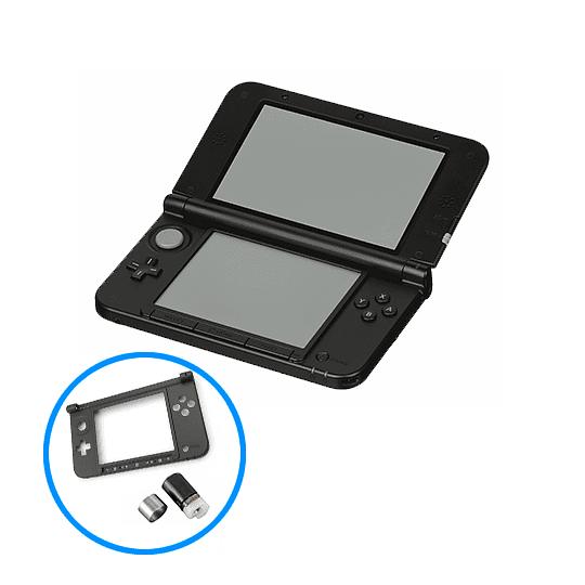 Cambio Carcasa Inferior + Bisagra Nintendo 3DS XL