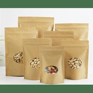 Pack de 50 Envases Doypack  15*25 Hasta 500 Gramos