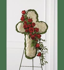 Cruz Fúnebre en Atril