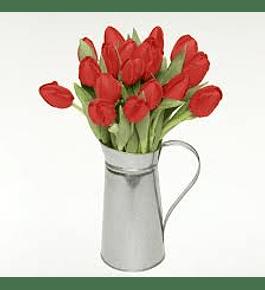 Jarra de 15 Tulipanes