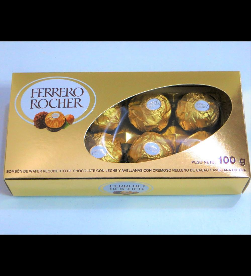 Caja Ferrero Rocher 100g.