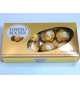 Caja Ferrero Rocher 100 gr.
