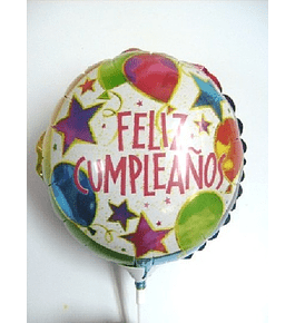 Globo Metálico Cumpleaños