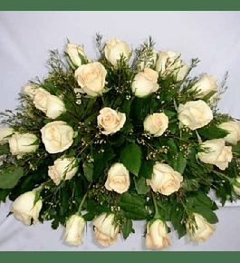 Cubre Urna 25 Rosas