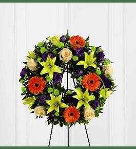 Corona Flores Colores