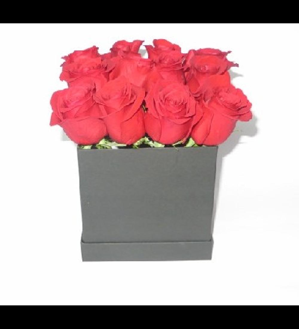 Cubo 12 Rosas