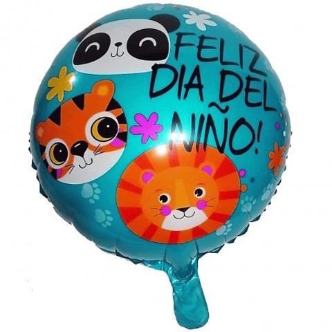 Globo Metálico Día del Niño