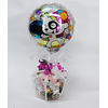 Cajita Peluche y bombones mas globo