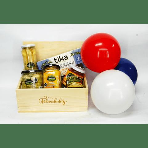 Caja Vegana Felicidades Fiestas Patrias