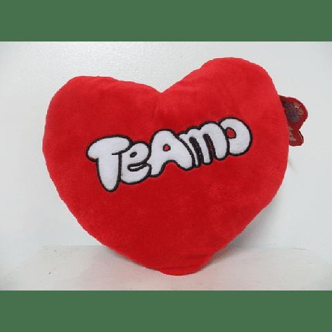 Cojín Corazón Peluche