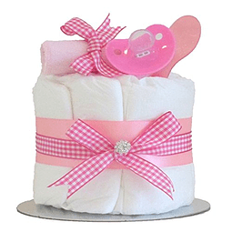 Torta de Pañales con Accesorios