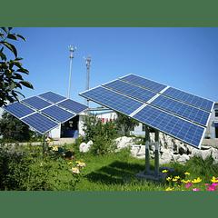 Seguidor solar para 2 kW