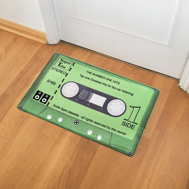 Alfombra Limpiapies con Diseño Verde The number One Hits 30