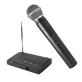 Micrófono Vocal VHF Inalámbrico